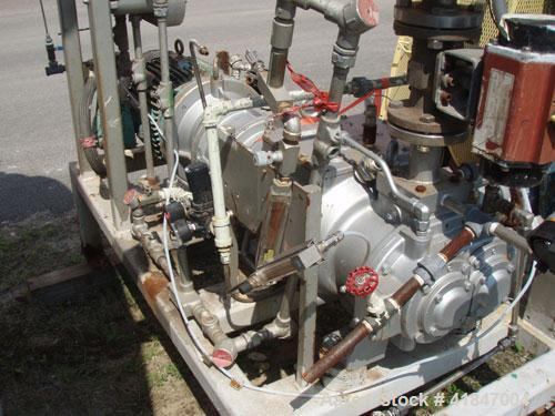 Used- Busch Single Stage Cobra Dry Screw Vacuum Pump, Model AC0400FFZ3XXXX, Carbon Steel. Rated 262 cfm, 0.05'' Torr., direc...