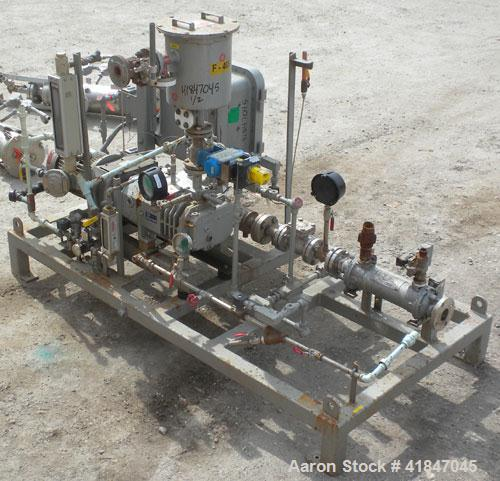 Used- Busch Single Stage Cobra Dry Screw Vacuum Pump, Model NC0070ABM6.000F, Carbon Steel. Rated 58 CFM, 0.075'' Torr., air ...