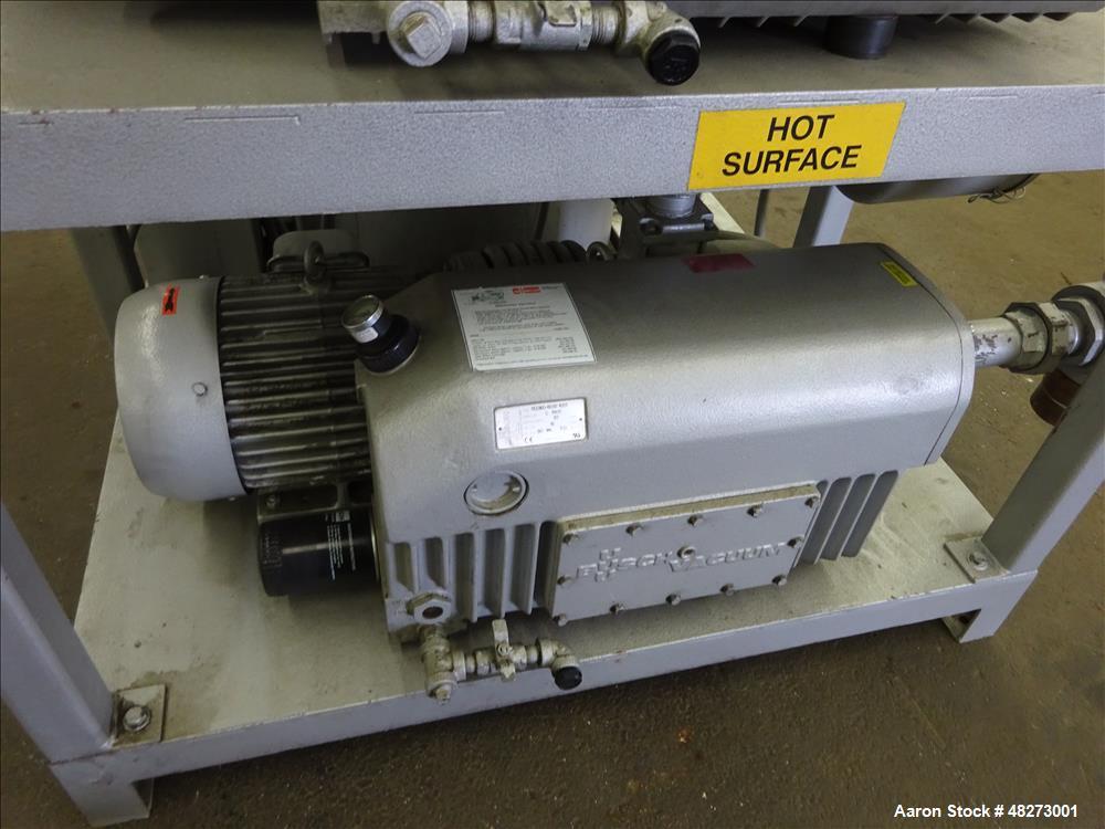 Used- Busch Triplex Central Vacuum System.
