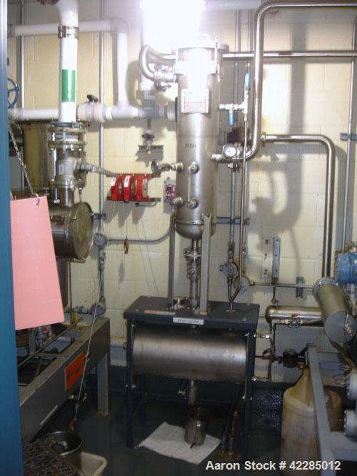 Used- Busch Cobra Dry Screw Vacuum Pump, Model TC 2250 AM26 XXF2. Driven by a 15 hp XP motor. Includes a stainless steel kno...