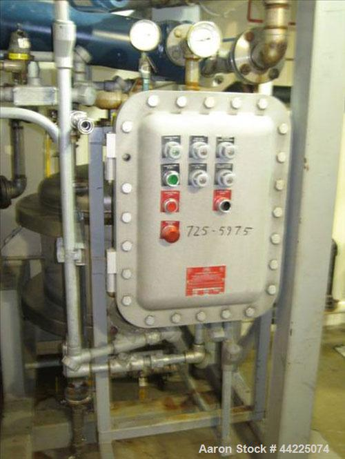 Used- Wintek Vacuum Skid, Model K08-VC200-C40/R30. Rated 60 ACFM at 5 Torr. 7.5 HP. With Rietschle vacuum pump. Built 2001, ...