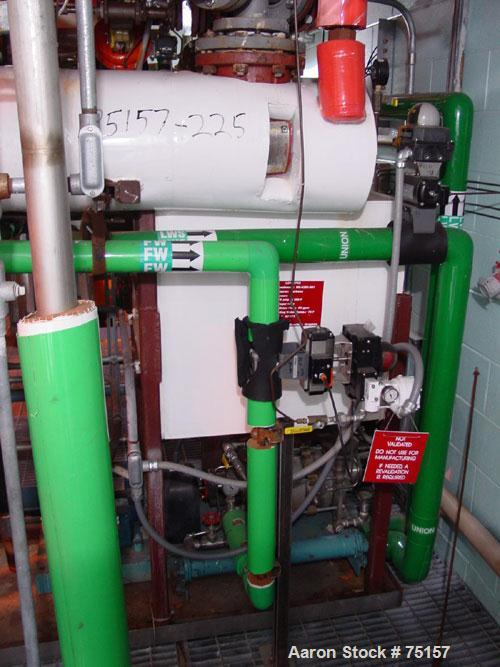 Used- Kinney Liquid Ring Vacuum Pump, Model KLRC 125-KSS2, Skid Mounted. Driven by 10 hp motor, 3/60/230/460V, 1740 rpm.