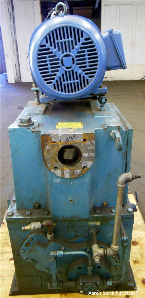 Used- Carbon Steel Kinney Single Stage Rotary Piston, Oil Sealed Vaccum Pump, Mo