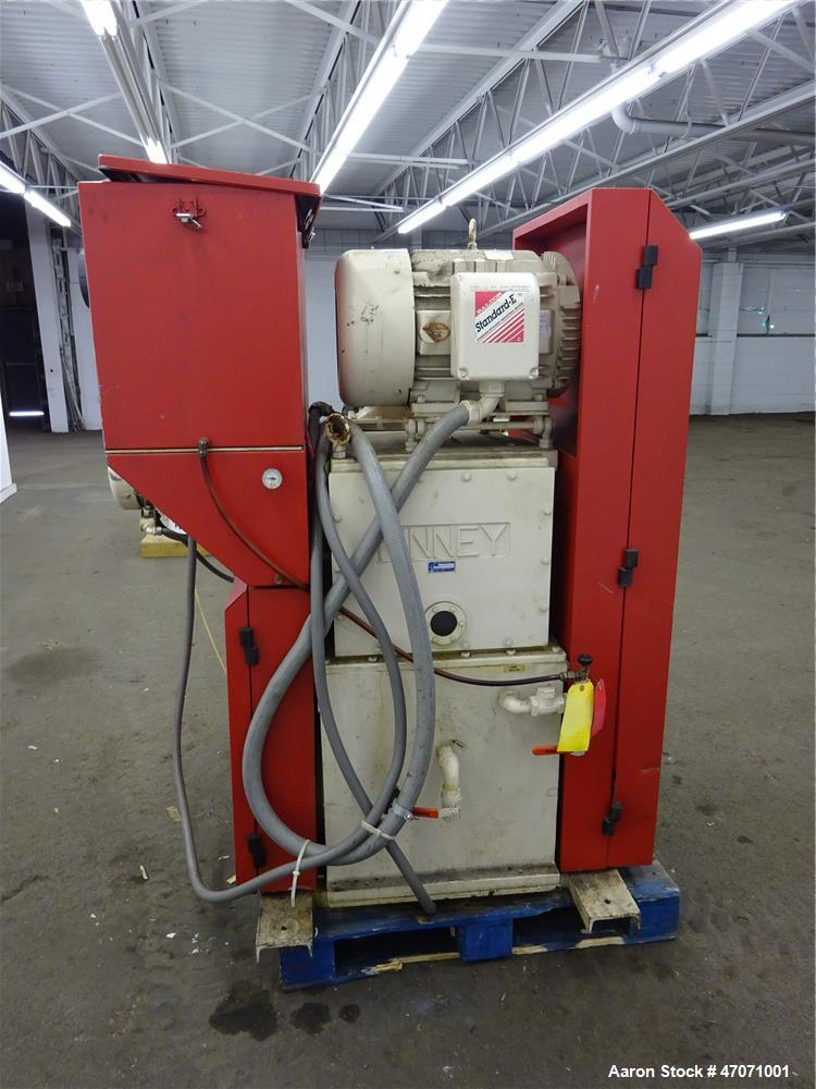 Used- Kinney/Tuthill Mechanical Booster Vacuum Pump System, Approximate 484 CFM