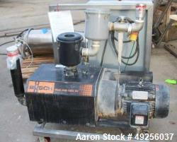 Used-Busch Mink claw vacuum pump, type MINK MM 1322 AVV6.11XX, serial number U06415477, Displacement 218 CFM, 10 HP. 208/230...