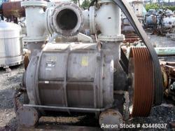 Used- Carbon Steel Nash Liquid Ring Vacuum Pump, Model CL-3003