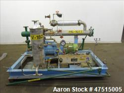 Used- Graham Precision Pumps Vacuum System. Consisting of Graham vacuum pump mod