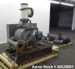 Used- Nash CL Series Liquid Ring Vacuum Pump, Model CL-1002, Carbon Steel.