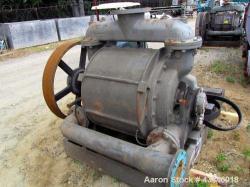 Used- Carbon Steel Nash Liquid Ring Vacuum Pump, Model CL2003