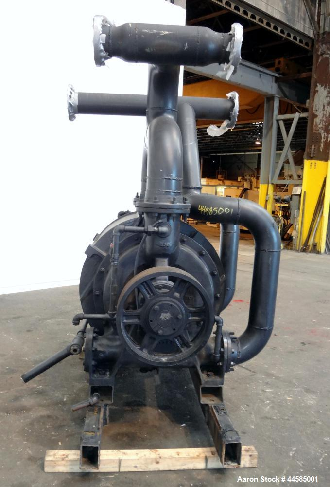 "Used- Nash Liquid Ring Vacuum Pump, Model CL3002, Carbon Steel. Approximately 2590 cfm at 24"" Hg at 500 rpm. Requires motor."