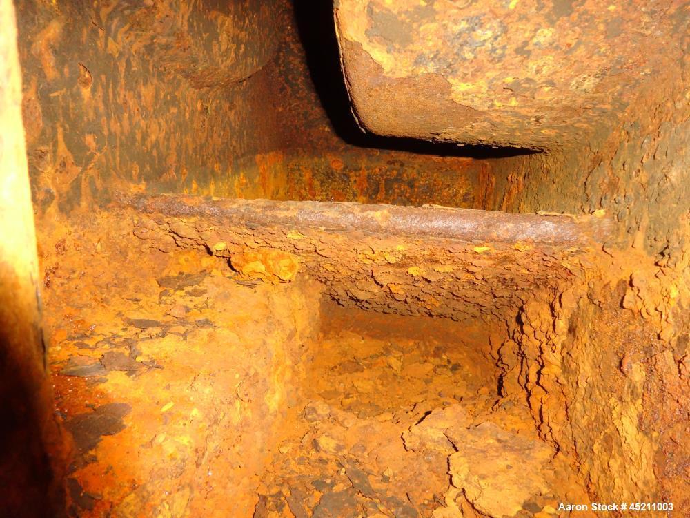 Used- Carbon Steel Nash Liquid Ring Vacuum Pump, Model 904-R2