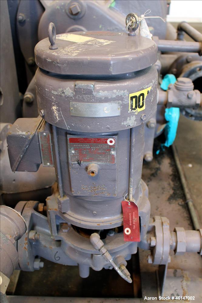 Unused- Nash Main Condenser Exhaust System, Model AT-3400E, Carbon Steel. Consists of: (1) Nash 2 stage liquid ring vacuum p...