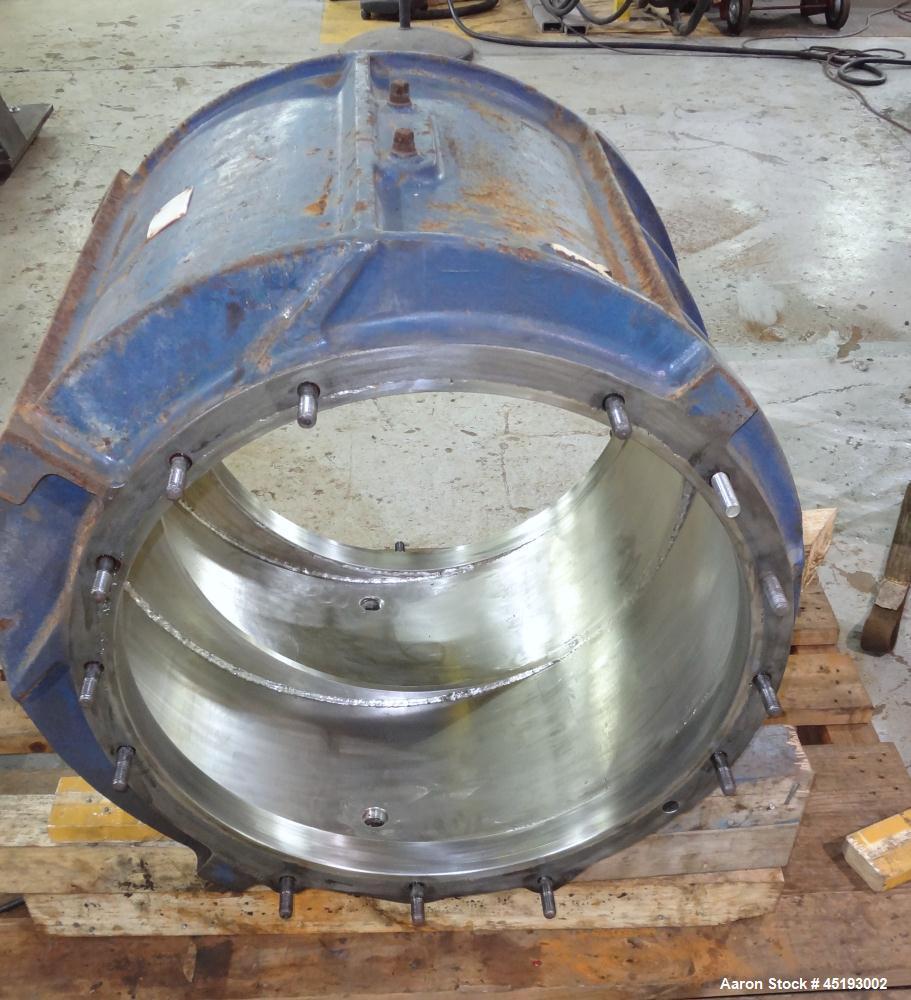 Used- Stainless SteelNash Elmo Liquid Ring Vacuum Pump, Model CL-2002