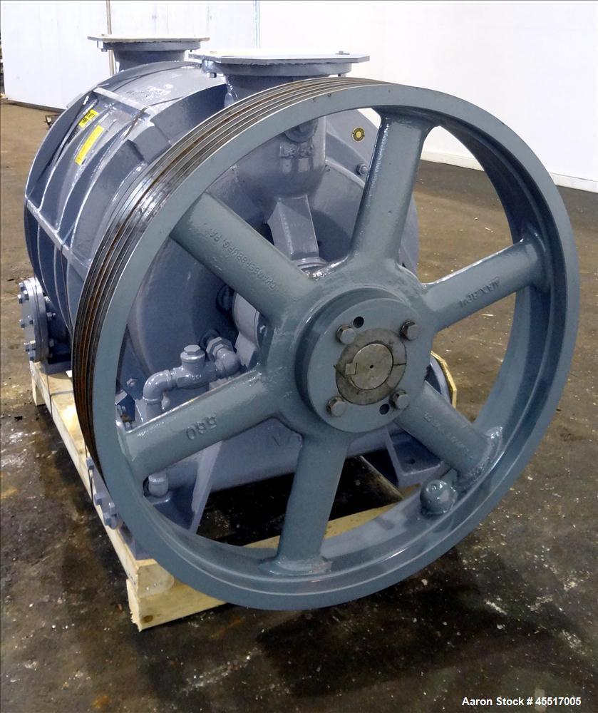 Used-Nash Liquid Ring Vacuum Pump, Model CL-3002