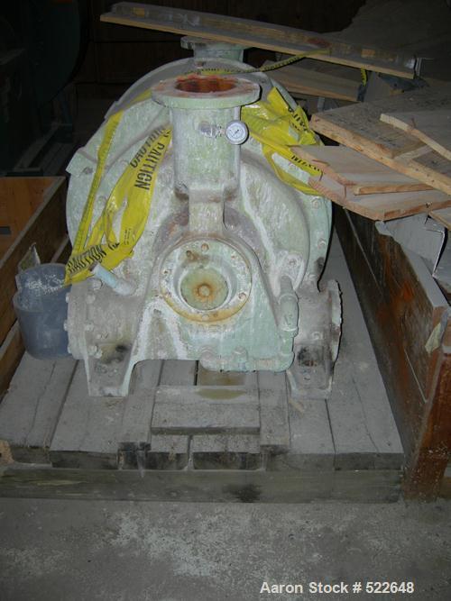 USED: Nash liquid ring vacuum pump, model CL2002. Cast iron, no motor.