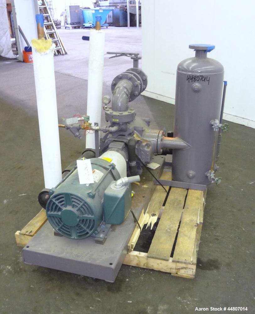Used- Carbon Steel Nash Liquid Ring Vacuum Pump