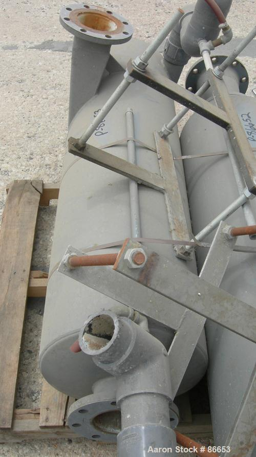 USED- Nash Liquid Ring Vacuum Pump, Model SC7, Cast Iron Construction. Approximate capacity 700 CFM at 880 RPM. Driven by a ...