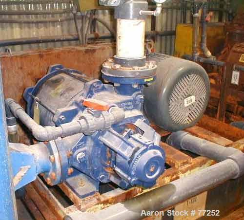 USED: Nash vacuum pump, model XL130/7, 40 hp. Year 2001.