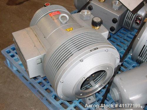 Used- Rietschle Rotary Vane Vacuum Pump, type CLFG 101V, carbon steel. Approximately 67 cfm. Includes a filter, requires a m...