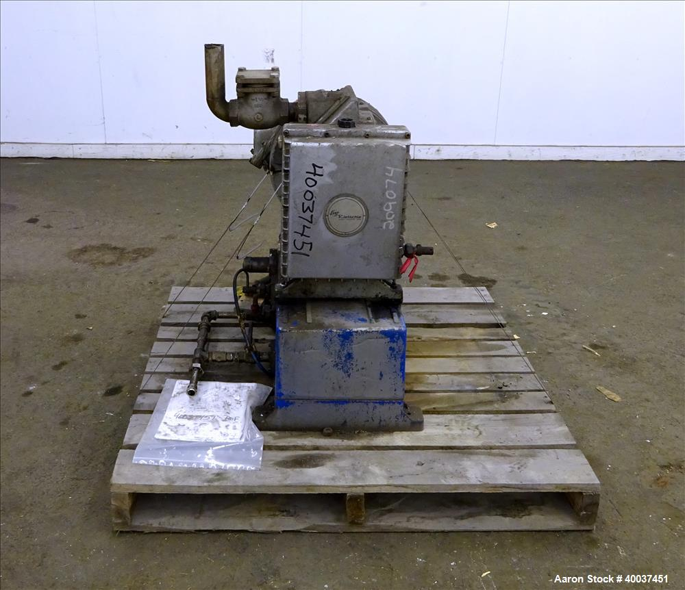 Used- Carbon Steel Rietschle Oil Seal Vacuum Pump, Type VL-100-(03)