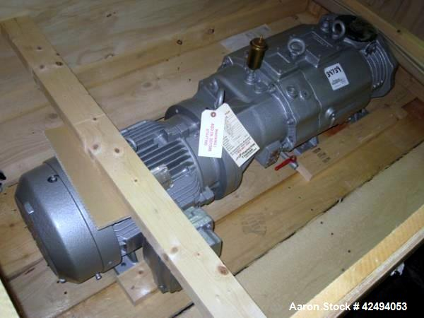 Used- Rietschle liquid ring vacuum pump, model VSB-320-62, carbon steel construction, 188 CFM at 0.02 torr, with 10 hp, 460V...