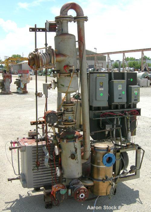 Used- Rietschle Oil Seal Vacuum Pump, Type VWZ402-15M. Approximately 235 cfm at 375 TORR. Driven by a 20 hp, 3/60/230/460 vo...