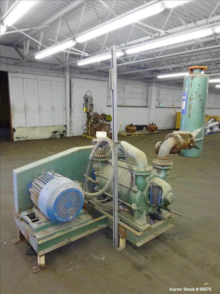 Used- SIHI Vacuum Pump, Model LPHA75330
