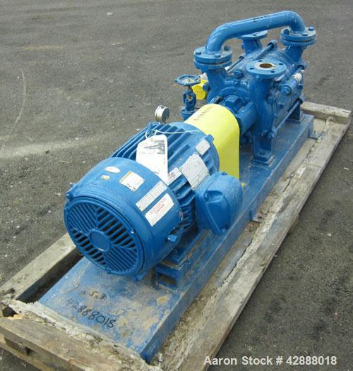 "Unused- Sihi Liquid Ring Vacuum Pump, Model LPHR55316ABADD4B4, 316 Stainless Steel. 2"" Inlet/outlet. Approximately 228 cfm a..."