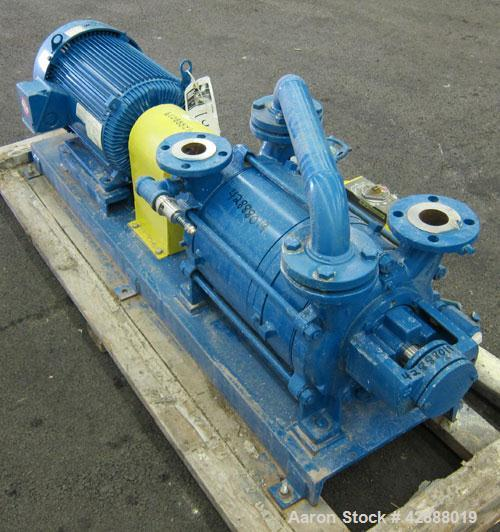 """Unused- Sihi Liquid Ring Vacuum Pump, Model LPHR55320ABADD4B4, 316 Stainless Steel. 2"""" Inlet/outlet. Approximately 247 cfm a..."""