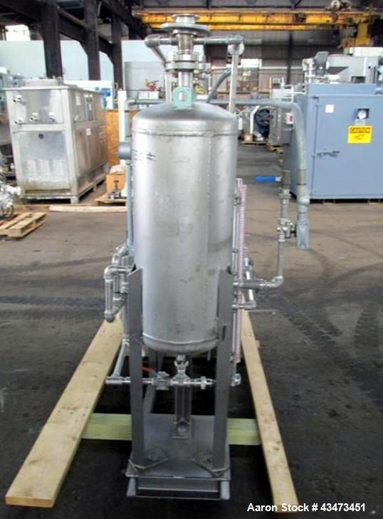 """Used- SIHI Vacuum Pump, Model LPHY-45317. 316 Stainless steel construction. Nominally rated 105 cfm at 4"""" vacuum to 72 cfm a..."""