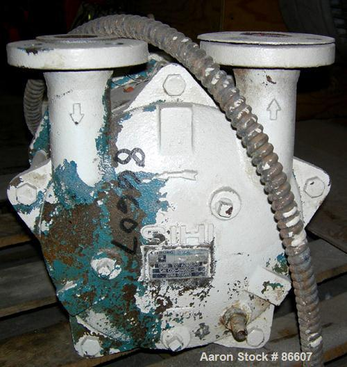 """USED- Sterling Close Coupled, Single Stage, Liquid Ring Vacuum Pump, Model LEMB170, Carbon Steel. 1-1/2"""" inlet/outlet. Appro..."""