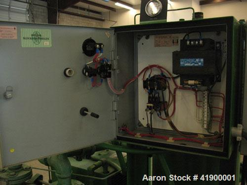 Used-Sullivac Liquid Ring Vacuum Pump, System Model SVS-275-A, with pump model SL321-B-01. Lincoln 7.5 hp, 1745 rpm, 3 phase...