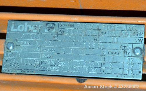 Used- Stainless Steel Sulzer Burckhardt Apovac System, Type PMZF-2510