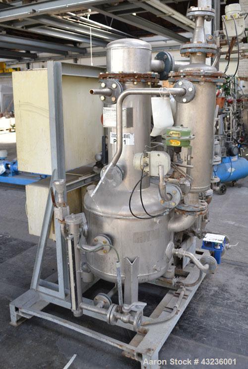 Used- Sulzer Burckhardt Apovac System, Type PMZH-48-961, Stainless Steel. Consisting of: (1) Sulzer Burckhardt vacuum pump, ...