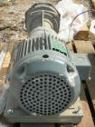 Used- NashLiquidRingVacuumPump,size AHF-75/SS,316 stainless steel. Approximate capacity 60 cfm at 15