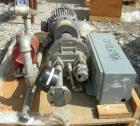 Used- NashLiquidRingVacuumPump,Size AHF-80,316 Stainless Steel. Approximate capacity 72 CFM at 15