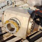USED: Busch Huckepack vacuum pump, rotary vane design, type 445-002. Rated 780 cfm. Driven by a 40 hp, 3/60/460 volt XP moto...