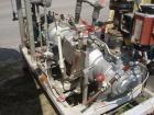 Used- Busch Single Stage Cobra Dry Screw Vacuum Pump, Model AC0400FFZ3XXXX, Carbon Steel. Rated 262 cfm, 0.05'' Torr., direc...