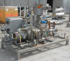 Used- Busch Single Stage Cobra Dry Screw Vacuum Pump, model NC0070ABM6.000F, carbon steel. Rated 58 cfm, 0.075'' Torr., air ...