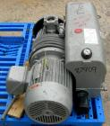 USED: Busch single stage, oil sealed, rotary vane vacuum pump, model R00160-13032-1001, carbon steel. Rated 117 cfm, 20.6