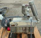 Used- Busch Single Stage, Oil Sealed, Rotary Vane Vacuum Pump, model R5-160-138, carbon steel. Rated 117 cfm, 15'' HG, Torr....