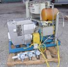 USED:Busch Huckepack once-through-sealing vacuum pump, rotary vane,type 433:014, rated 200 cfm. Driven by a 20 hp 3/60/230/4...