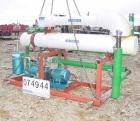 Used- Jet-Vac Steam Jet Vacuum System. Skid mounted consisting of: (1) Kinney liquid ring vacuum pump, model KLRC125C, seria...