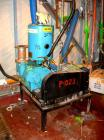 Used- Kinney Single Stage Rotary Piston Vacuum Pump, Model KDH-130, Carbon Steel. Rated 134 cfm at 546 rpm. Driven by a 7.5 ...