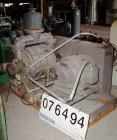 Used- Nash Liquid Ring Vacuum Pump, Model CL-1002, Cast Iron. Capacity 1060 cfm at 15