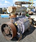 Used- Carbon Steel Nash Liquid Ring Vacuum Pump, Model CL3002