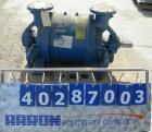 Used- Nash liquid ring vacuum pump, model CL-702.  Approximate capacity 700 cfm, 24