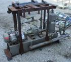 USED: Nash liquid ring vacuum pump, size AHF-50S, stainless steel construction. Flow rate of 1-1/2 gpm, in and outlet 2