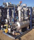 Used- Rosenmund Apovac System, Hastelloy construction, consisting of: (1) Sulker Burckhardt liquid ring compressor, model PM...