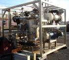 Used- Rosenmund APOVAC Solvent Recovery Vacuum System, Hastelloy C22 construction with model PM20-3817-H88 Sulzer Burckhardt...